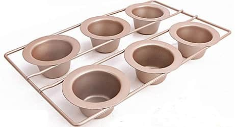 Popover Pan 6 Cup Bake ware