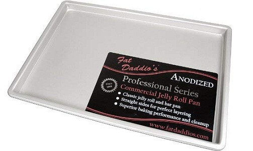 Fat Daddio's Anodized Aluminum Jelly Roll Pan