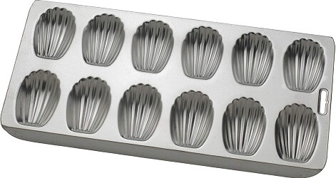 Mrs. Anderson's Baking 93230 12-Cup Madeleine Pan