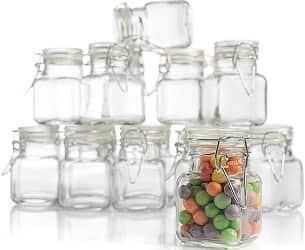 3 oz Small Glass Jars