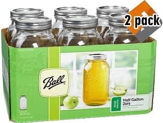 Ball 68100BALL Wide Mouth Half Gallon Jar