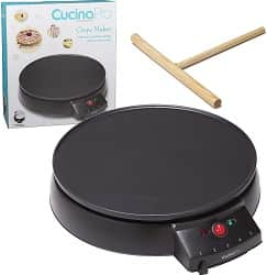 Crepe Maker and Nonstick 12 Griddle- Electric Crepe Pan
