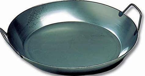 Matfer Bourgeat 062052 Black Steel Paella Pan