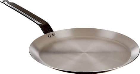 Paderno World Cuisine Blue Carbon Steel Crepe Pan