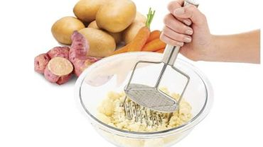 The World's Greatest Dual-Action Potato Masher and Ricer