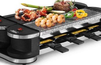 Artestia Electric Dual Raclette Grill