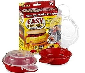 As Seen On TV TSR720 Easy Eggwich Microwave Egg Cooker