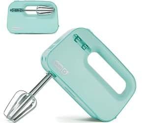 Dash SHM01DSBU Smart Store Compact Hand Mixer