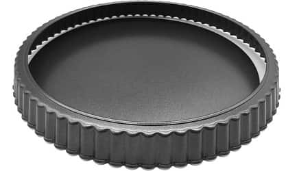 HOMOW Nonstick Heavy Duty Tart Pan