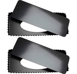 Tosnail 2 Pack Rectangular Quiche Pan