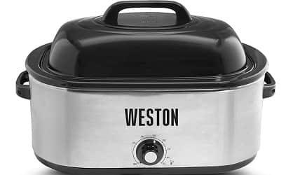 Weston 03-4100-W Roaster Oven