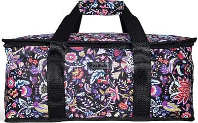 Casserole carrier carrying insulated potluck