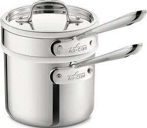All-Clad 42025 Stainless Steel 3-Ply Bonded Sauce Pan