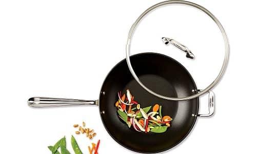 All-Clad E7859464 HA1 Hard Anodized PFOA Free Chefs Pan