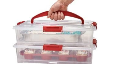 Buddeez 19202R-ONL 19202R Cake and Cupcake Carrier