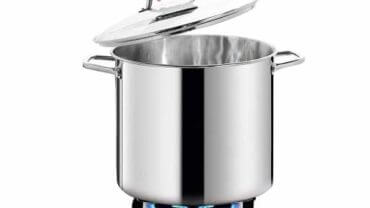 HOMICHEF Large Nickel Free Stainless Steel Stockpot