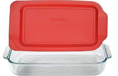 Pyrex Basics 3 Quart Glass Oblong Baking Dish
