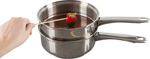 Stainless Steel 6 Cup Double Boiler