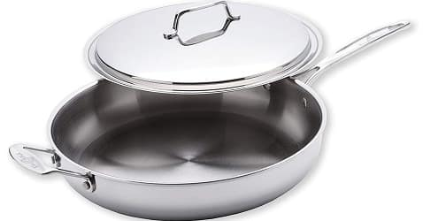 USA Pan 1545CW-1 Cookware 5-Ply Stainless Steel