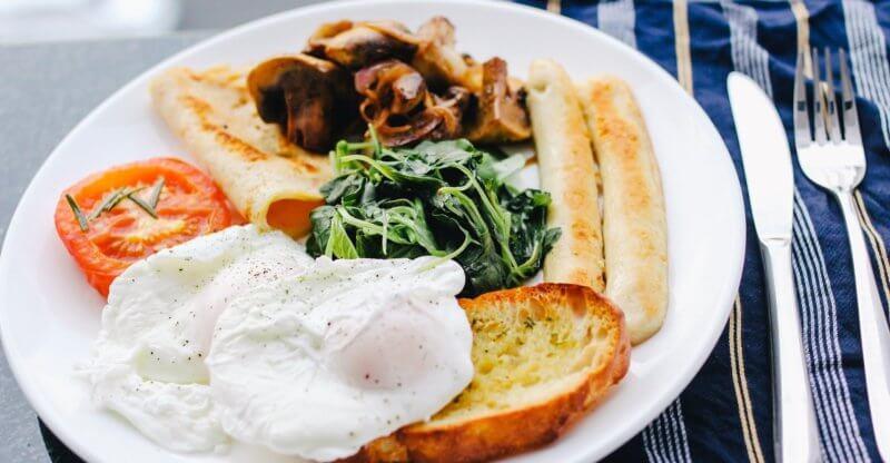 Best Breakfast egg griddle sausages set