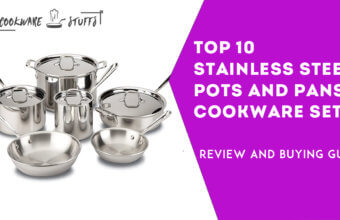 10 best Stainless Steel pots and pans cookware review
