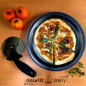 Home DIY Pizza in pan and pizza peel
