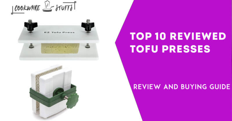 Best tofu presses makers review guide